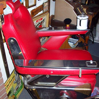 belmont barber chair - Furniture