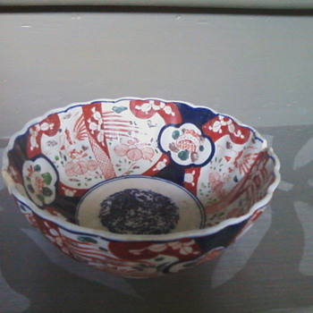 Imari bowl?