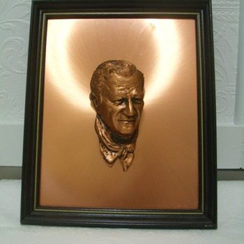 Bronze John Wayne Plaque? - Movies