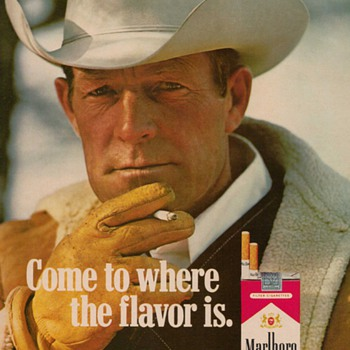 1978 Marlboro Cigarettes Advertisement - Advertising