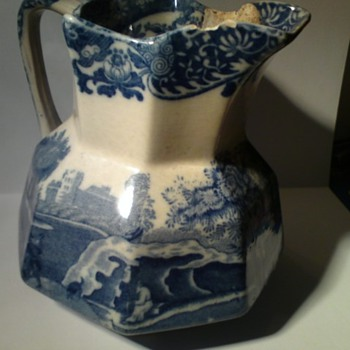 My battered but precious Copeland Spode italian Ware jug - China and Dinnerware