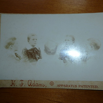 Antique Unusual Cabinet Card