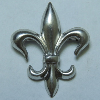 Sterling Silver Fleur de Lis Pin