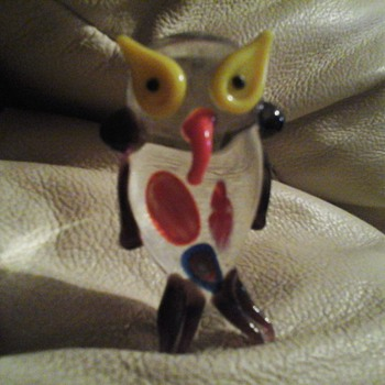 murano glass owl????  - Art Glass