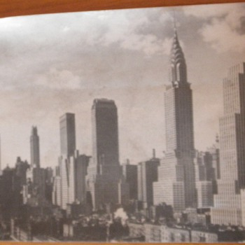 New York City WWII Era Jumbo Postcard