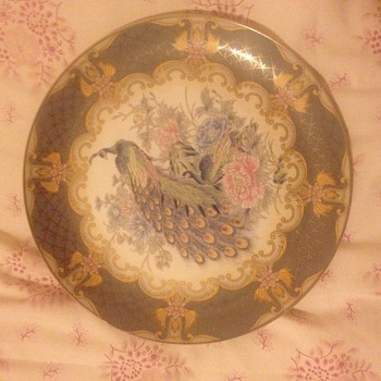 HELP NEEDED!!! plate history/valuation  - China and Dinnerware