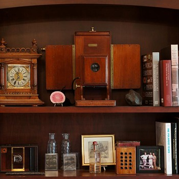 Antique Camera Display – My Workspace