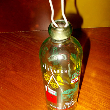 1961 Coca-Cola Convention Hutchinson bottle