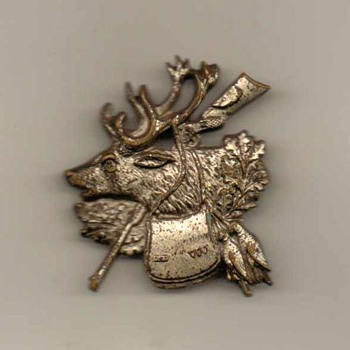 "German ""Hunters"" Hat Pin"
