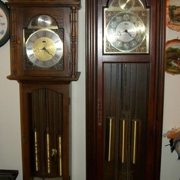 Grandfather and Grandmother clocks