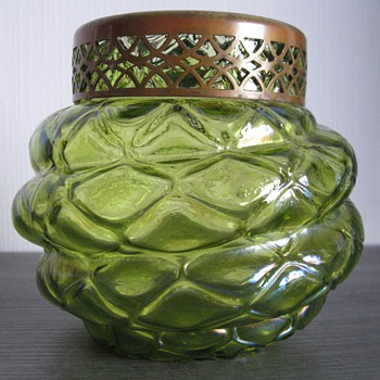 Mystery item, art nouveau vase - Art Glass