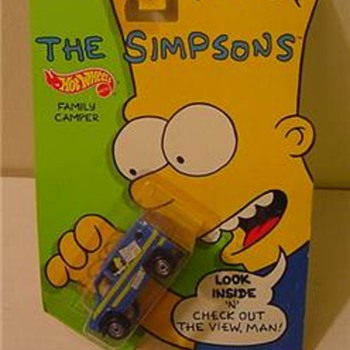 Simpsons diecast fun