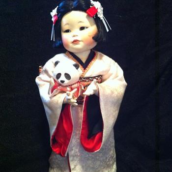 oriental doll, 1985? - Dolls