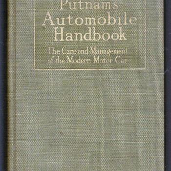 1918 - Putnam's Automobile Handbook
