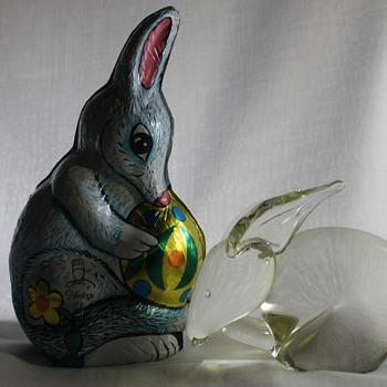 The Easter Bilby - Art Glass