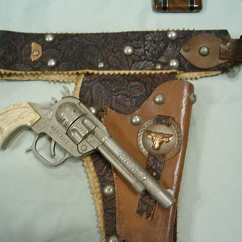 Toy Gun and Holster - Toys