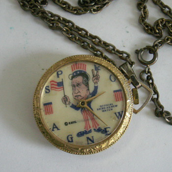 Spiro Agnew pocket / necklace watch - Pocket Watches