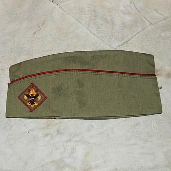 Vintage Boy Scout Garrison Cap 195os-1960s - Sporting Goods