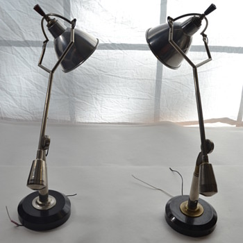 Desk Lamps by Edouard-Wilfrid Buquet