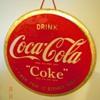 "1940's Coca-Cola 9"" Celluloid Sign"