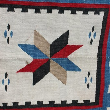 South wool western rug/blanket Rio Grande??
