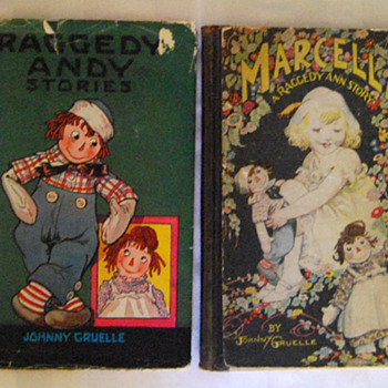 My Raggedy Ann & Andy Books - Dolls