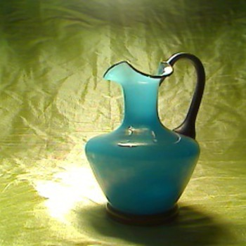 Blue glass  - Art Glass