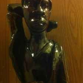 Haitian Wooden Sculptures - Arts and Crafts
