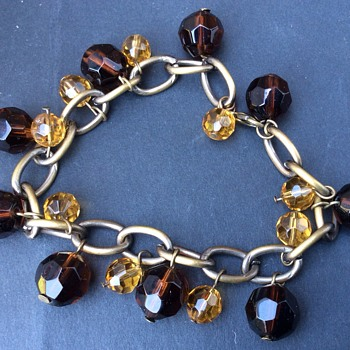 Antique amber bracelet - Fine Jewelry