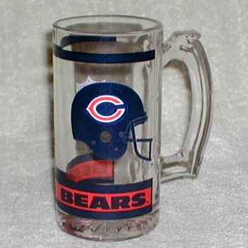 """Chicago Bears"" NFL Glass Mug"