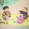 hitoshi kiyohara cartoonish woodblock prints?