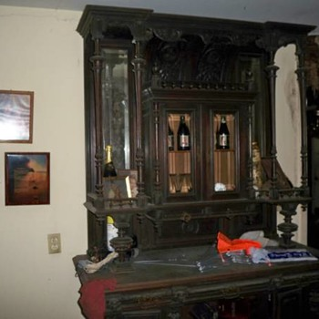 Renaissance Revival Buffet - Furniture
