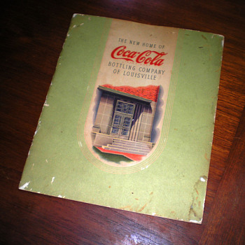 1940s Louisville Coca-Cola Bottling Plant Tour Book