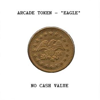 Arcade Token - Eagle & Stars