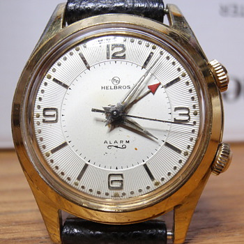 1960's Helbros Alarm (YGF case) - Wristwatches