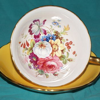 Hammersley & Co. Cup and Saucer - China and Dinnerware