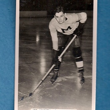 Sporting Events and Stars Hockey Card Series of 96 G.A. Johnson - Hockey