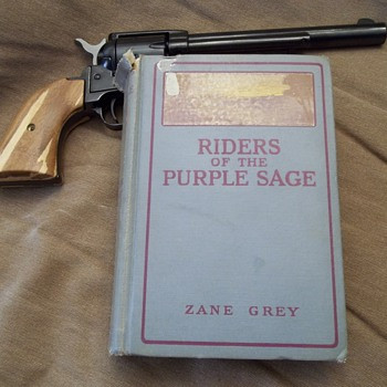"First Edition..Zane Grey ""Riders Of The Purple Sage"" - Books"