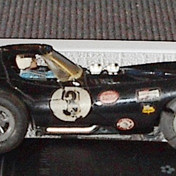Cox 1/32 Cheetah Slot Car - Model Cars