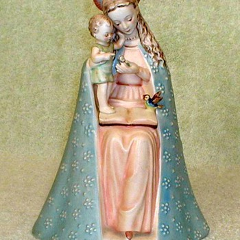 "1950 - Hummel ""Flower Madonna & Child"" - Figurines"