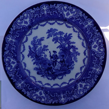 1890s Plate - China and Dinnerware
