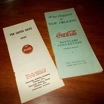 1930 and 35 Coca-Cola brochures