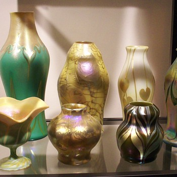Trevaise Group of Seven - Art Glass