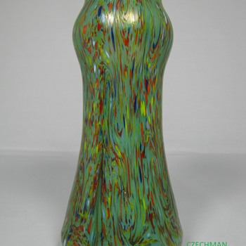 OUTSTANDING Loetz Ausführung 237 Art Glass Vase ca 1920 - Art Glass
