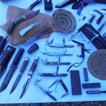 Knives, Knives, and more Knives