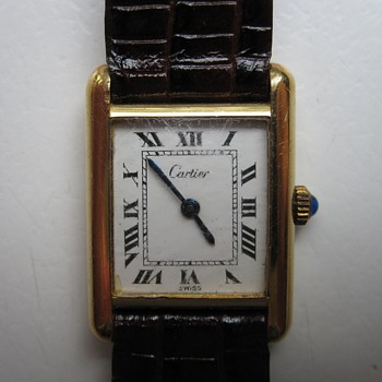 My 1970s Cartier Tank Watch