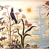 Emmy Lou Packard woodblock print