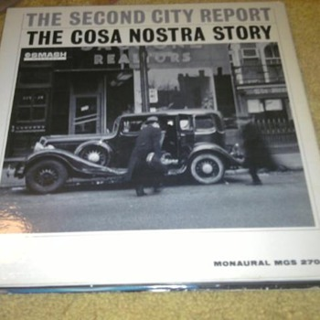 The Second City Report - The Costra Nostra Story LP Promo - Records