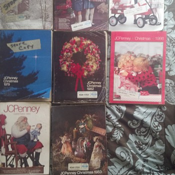 Vintage JCPenney Catalogs - Books