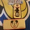 Vintage Disney Mickey Mouse Cowboy Pistols Watch With Original Box